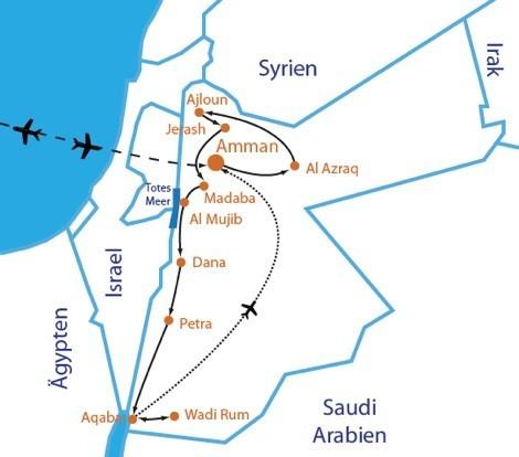 map-jordanien-wandertour