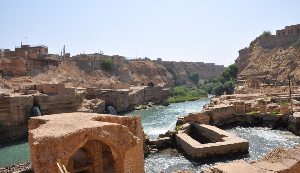 Iran Rundreise Shushtar antike Bewässerung 72 dpi