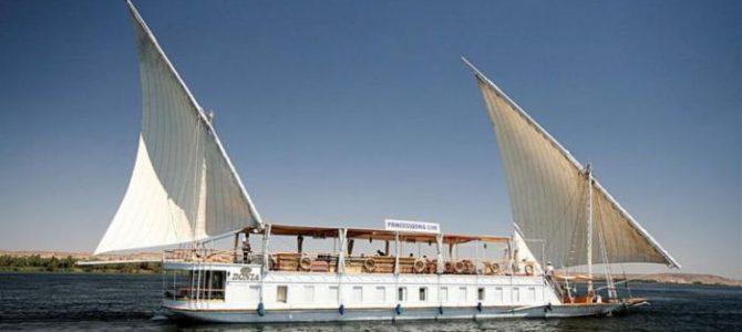 """Von Luxor nach Assuan – Segeln mit der Dahabeya """"Princess Donia"""""""