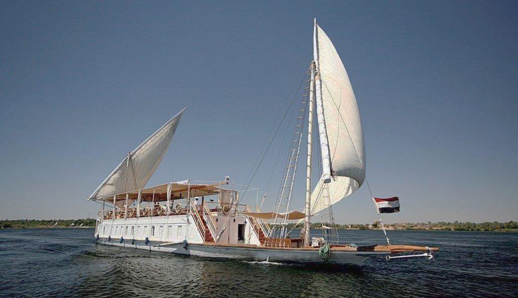 Ägypten Donia unter Segeln