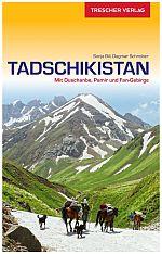 Trescher Tadschikistan Reiseführer Cover