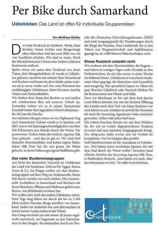 Usbekistan Artikel