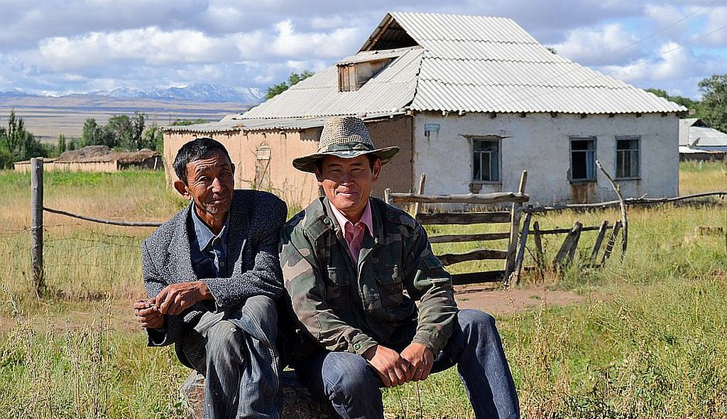 Kirgistan Bauernhof 1024px